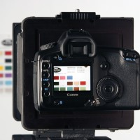 Canon DSLR used for digital stitching