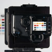 Canon DSLR mounted on MultiStitch for digital stitching