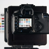 Photo of DSLR on MultiStitch