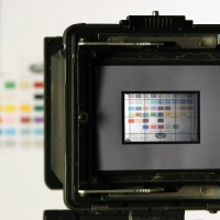 Photo of ground glass mask for full frame DSLR MultiStitch