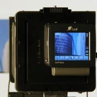 Leaf digital back used for large format digital stitching with MultiStitch