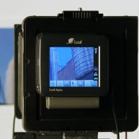 Medium format digital back in use with MultiStitch