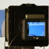 Leaf digital back in use for large format digital capture