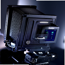 Mamiya digital back mounted using MultiStitch